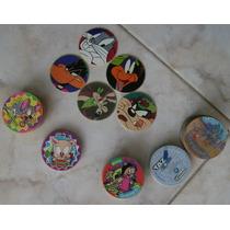 Tazos Pokemon, Simpsons, Looney Tunes Y Tiny Tunes