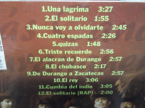 100 musica duranguense: