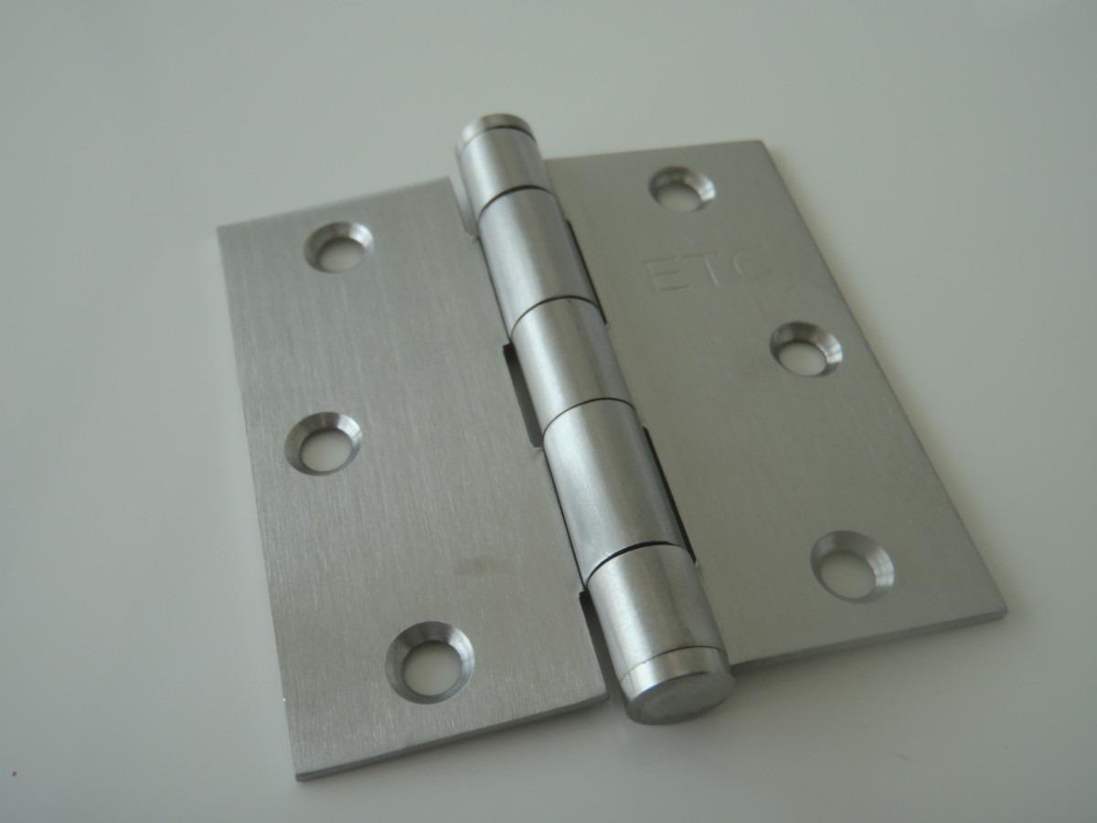 Bisagras para puertas de ba o for Puertas de acero inoxidable