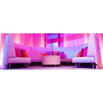 Sala Endless Largo Curva Respaldo Alto Eventos Diseñador