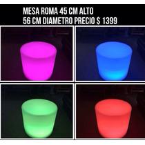 Mesa Iluminada Para Bar O Antro Salas Lounge