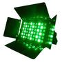 Luz Disco Par 64 Panel Led Rectangular 54x3w Rgbw Aluminio