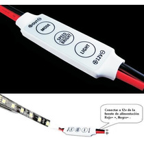Dimmer Digital Con Efectos Tira Led Monocolor 3528 O 5050