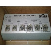 Divisor Spliter Optico Dmx Dmx-2x Chauvet Dj Fusiona 2zonas