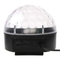 Luz Disco Msl9024 De Leds Esfera Crystal Ball Magica