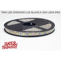 Tira Led 5mts 300 Leds Por Rollo 12v - 72w Luz Blanca 5050