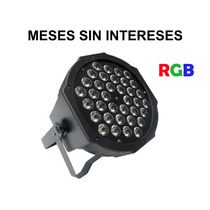 Steelpro Cañon De Led Alto Poder Par Rgb, 36x1 Watts, Dmx512