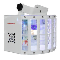 Luz Led Audioritmico Multicolor Derby Tipo Disco Dmx