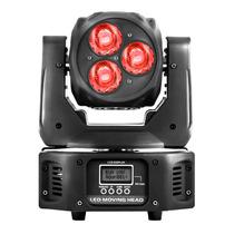 Luz Disco Led Cabeza Movil 360° Rgbw Dmx Audioritmica Dj