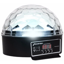 Esfera Disco De Luz 6 Leds Audio-rítmica Dmx Magic Ball