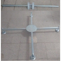 Base Soporte Luces Estructura 20x20 Acero Galvanizad Dj 1.25