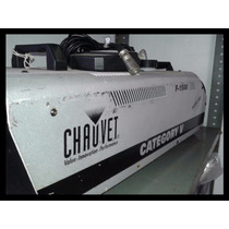 Potente Maquina De Humo Chauve F-1500 Fog Dj Disco Bar