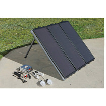 Kit Panel Solar De Energia 45 Watts Con Luces De Emergencia