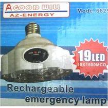 Foco Ahorrador Emergencia De19 Leds Recargable $89.00