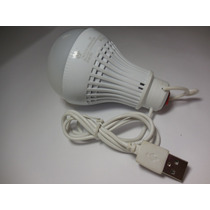Foco Led 7w Usb Con Bateria Recargable ¡remato!