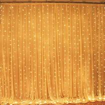 6m X 3m Cortina Leds Serie Luces Decoración Boda Eventos