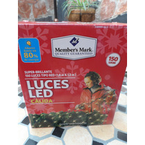 Set 150 Luces Led Member`s Mark Tipo Red Calida