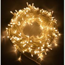 Series Luces Led 15 Mts Decoracion Luz Calida Magica Navidad