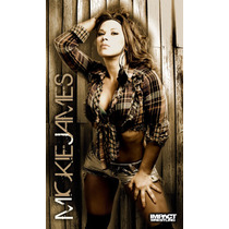Tna Banner De Mickie James Ideal Para Decorar Tu Recamara