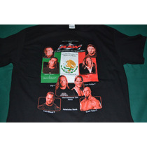 Playera Wwe A Night Monterrey Will Never Forget - (talla L)