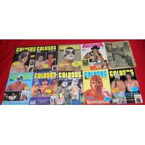 Revistas Colosos Arena Y Suplemento / Lote De 10 Revistas