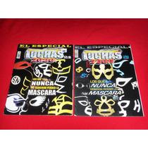 Luchas 2000 Los Que Nunca Debieron Perder La Mascara Lote 2