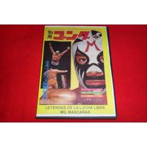 Mil Mascaras - Dvd De Coleccion Leyendas De La Lucha Libre