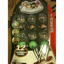 12 Squinkies Wwe / Series 4 / Exclusivo Tiky Toys