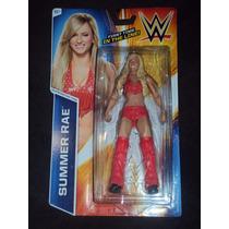 Figura Wwe Mattel Divas Summer Rae Serie Basico