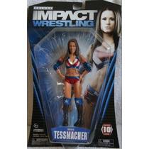 Tna Figura De Miss Tessmacher Serie 10 Deluxe Impact Jakks