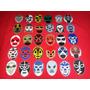 Mascaras De Luchador En Sticker Lote De 30 Piezas Vbf