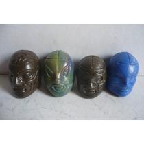 Luchador - Lote De 4 Mascara De Juguete El Santo Lucha Libre