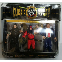 Wwe Classic Super Stars The Undertaker, Kane & Paul Bearer