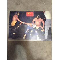 Poster Antiguo Lucha Libre
