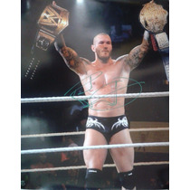 Poster Autografiado Firmado Randy Orton Wwe Viper