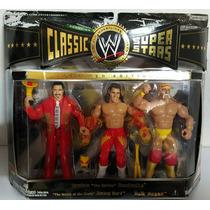 Wwe Classic Super Stars Hulk Hogan, Brutus Beffcake & Jimmy