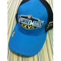Gorra Wwe Wrestlemania Xxvii Atlanta Original Dpa