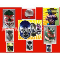 Máscaras De Luchadores !!! Adulto!!!esponja!!