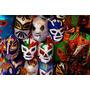 Mascaras De Luchadores- -varios Modelos