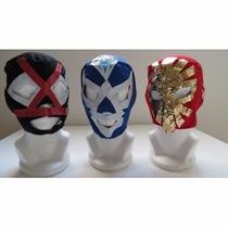 Mascaras Lote De 10 Mascaras D Luchadores P/niño $250