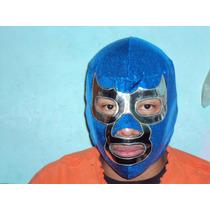 Mascara De Luchador Blue Demon Jr. Semiprofesional P/adulto