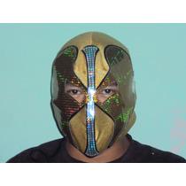 Mascara De Luchador Angel De Oro Semiprofesional P/adulto