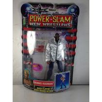 Wcw Power Slam - Dennis Rodman Figura Wwe Wwf