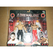Wwe Evan Bourne Vs Rey Mysterio Adrenaline (no Mattel)