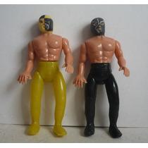 Rayo De Jalisco Y Pierroth - Cmll Luchador Plastico Inflado