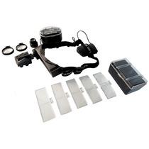 Lupa Optovisor Relojero 1-28x Con Super Led