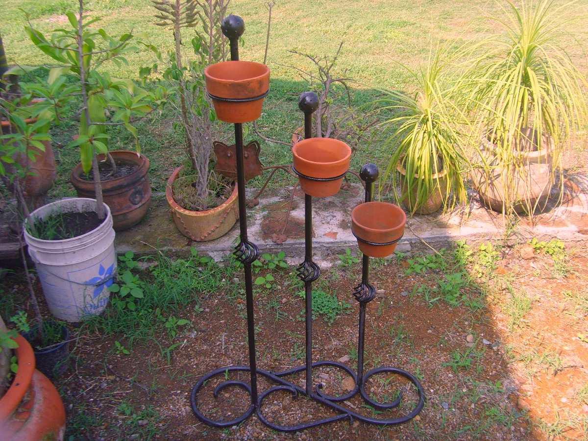 Maceta macetero de hierro forjado estilo antiguo 799 - Maceteros de hierro ...