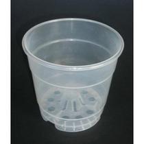 Macetas Transparentes Para Orquideas 12 Pzas /$100.00