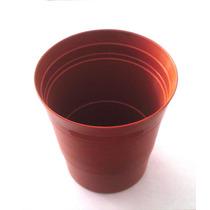 Macetita De 9 Y 10 Cm Diam. Plastico - Decora Mesas Y Jardin