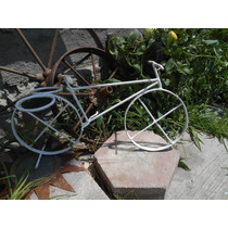 Bicicleta De Fierro Macetero Vintage